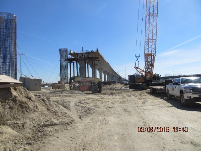 "Downtown Fresno ""Cedar"" Viaduct Structure"