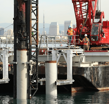 Environmental Award Winner: Fuel Pier Replacement Project