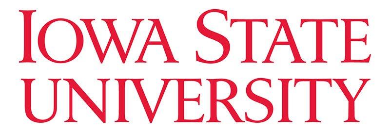 Iowa State University logo.