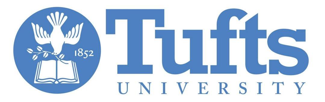Tufts University logo.