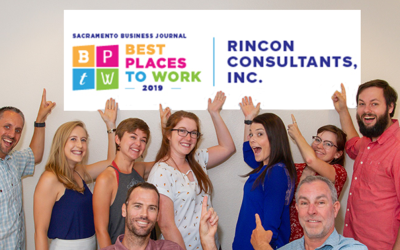 """Rincon Sacramento is a 2019 """"Best Places to Work"""" Winner!"""