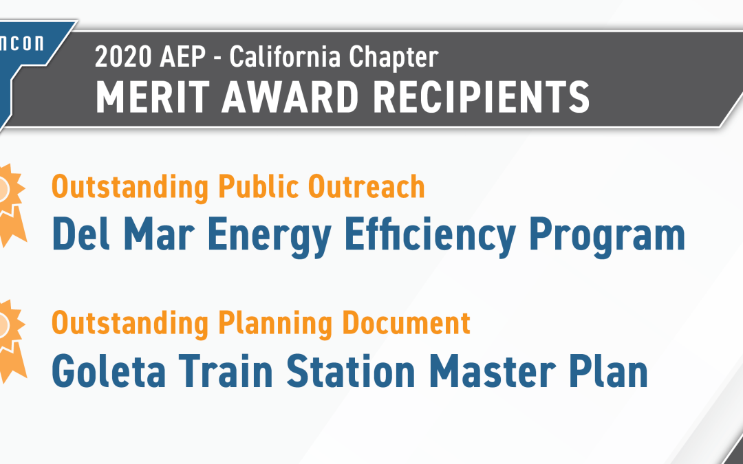 Rincon Receives Two AEP Merit Awards