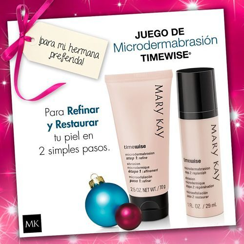 Ideas de regalos, set microdermo