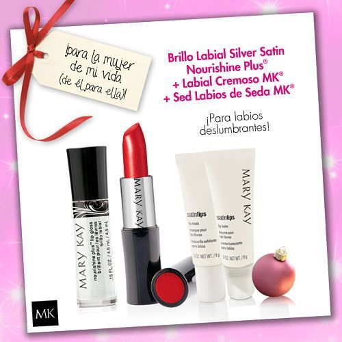 Ideas de regalos, set labios Mary Kay