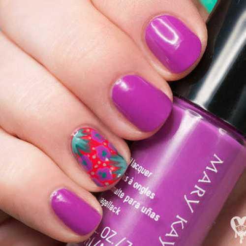 Dieños de uñas: mary kay