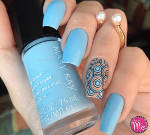 Diseños de uñas: mary Kay