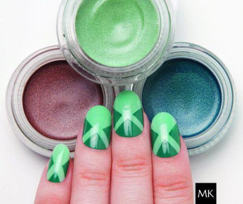 Diseños de uñas: mary kay nail art seafoam lagoon