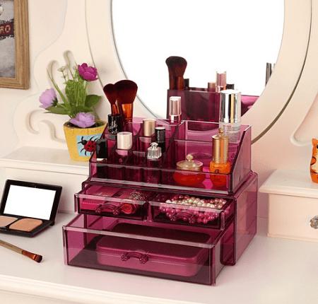 Ideas y productos para organizar tu Rincón de belleza en rosa