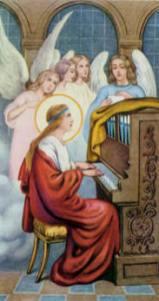 Cuadro de Santa Cecilia
