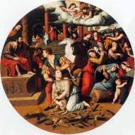 Martirio de Santa Inés cuadro