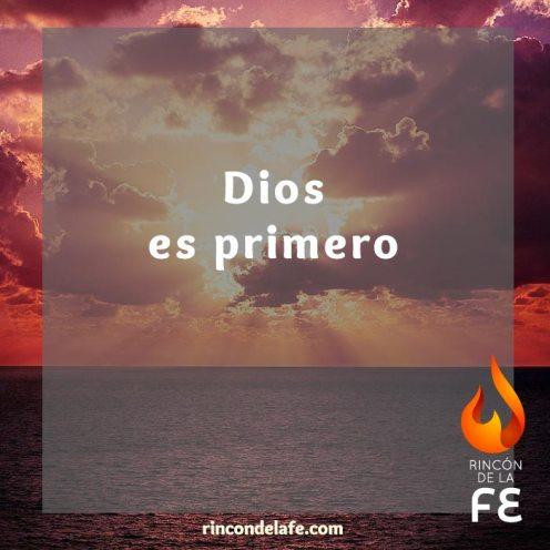 Dios es principio y fin