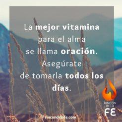 La mejor vitamina para el alma