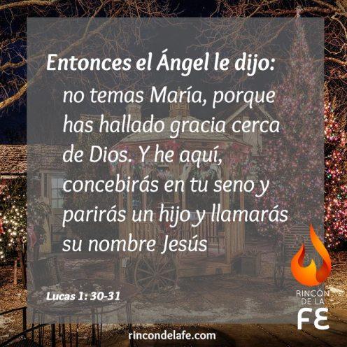 Frases cristianas bíblicas de la Navidad con imágenes.