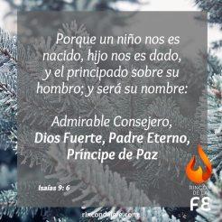 Mensajes evangélicos para la Navidad.