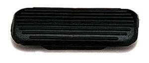Taco estribo club HH (par) negro 12 cm