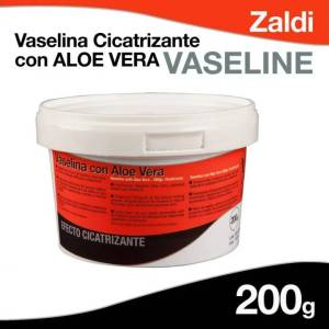 Vaselina cicatrizante con aloe vera Zaldi (200gr)