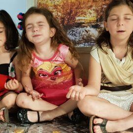 campamentos en el rincón de mindfulness
