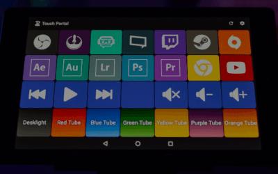 Imagen destacada para: Touch Portal, convierte tu tablet en un teclado para tu ordenador