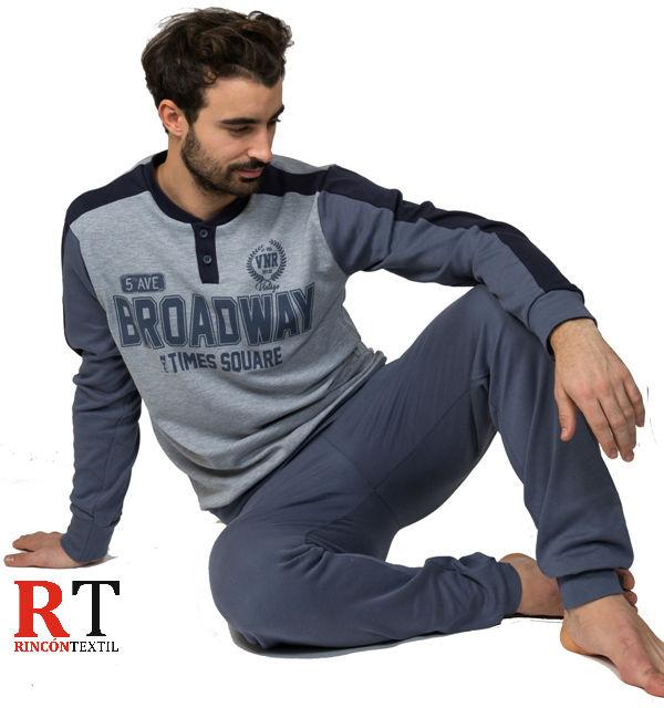 34cc1292a9 PIJAMA INTERLOCK PASCAL - Hombre - BH Textil - Rincón Textil