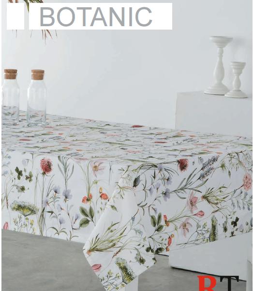 Mantel Antimanchas Sandeco Botanic