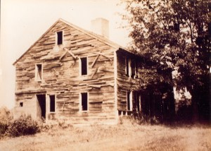 The Rand Homestead, phtographed late 19th century