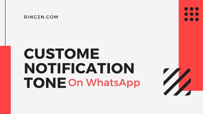 How to set custom notification tone for WhatsApp? Here I am going to provide the latest easy trick to do that. Whatapp is the most popular in social media.