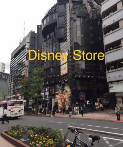 Disney Store in Shibuya