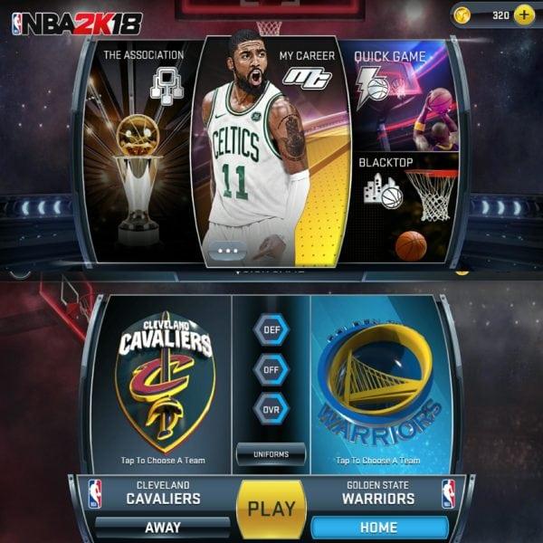 NBA2K18 video game by Sam RingBeep