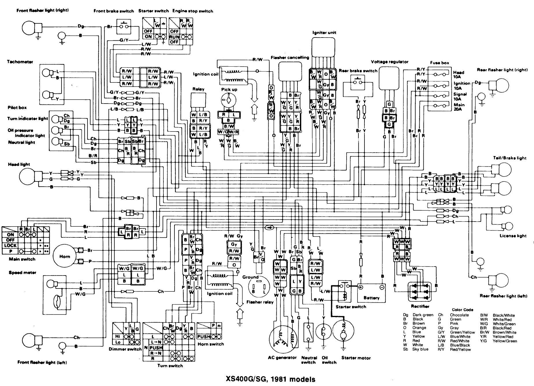 Xs Wiring Diagram