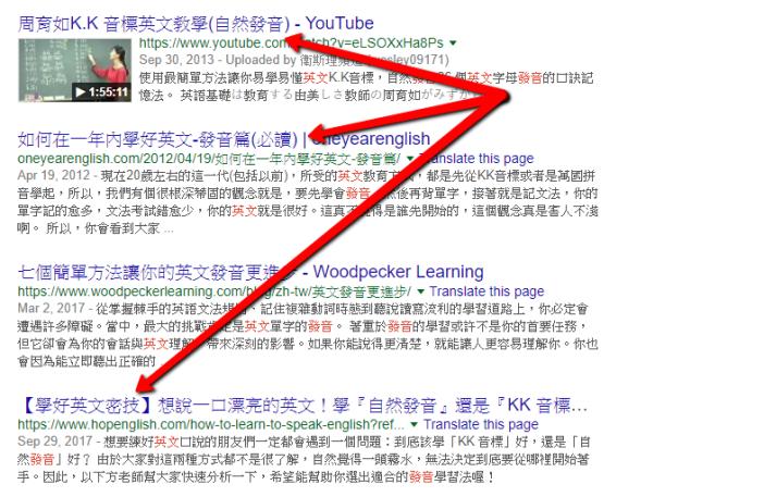 Google SEO - 加入括号能影响排名