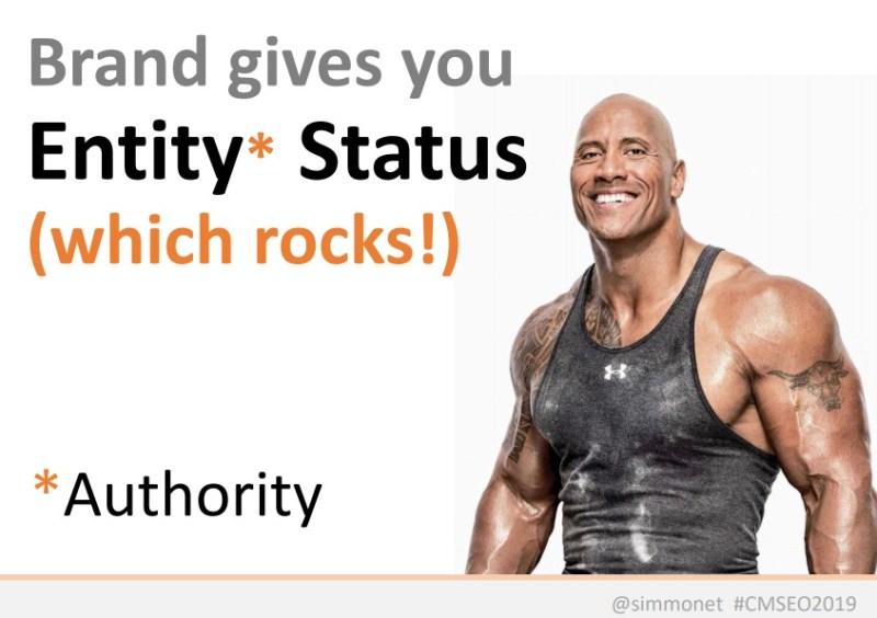 Authority 在 SEO 世界變得越來越重要