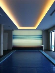 panplafond indirecte verlichting zwembad monavisa