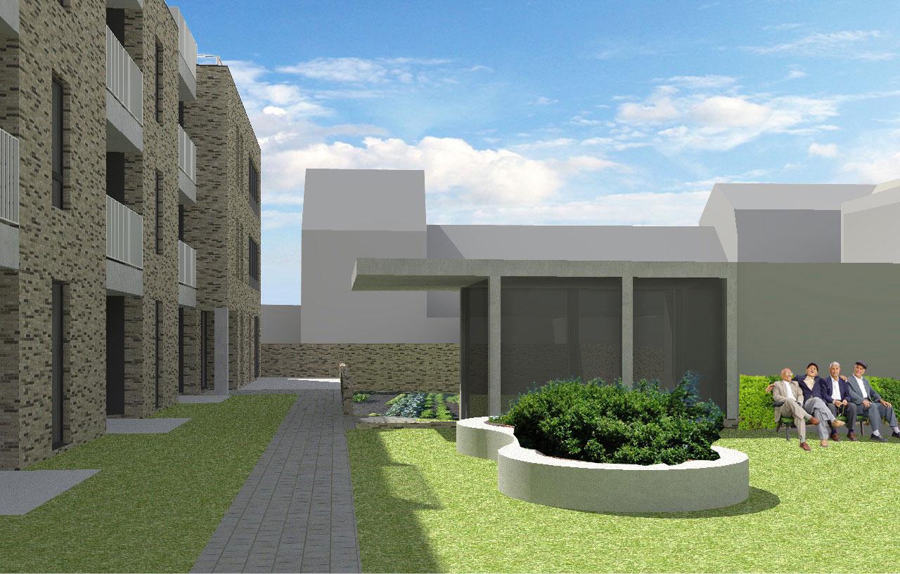 nieuwbouw assistentiewoningen Melsele