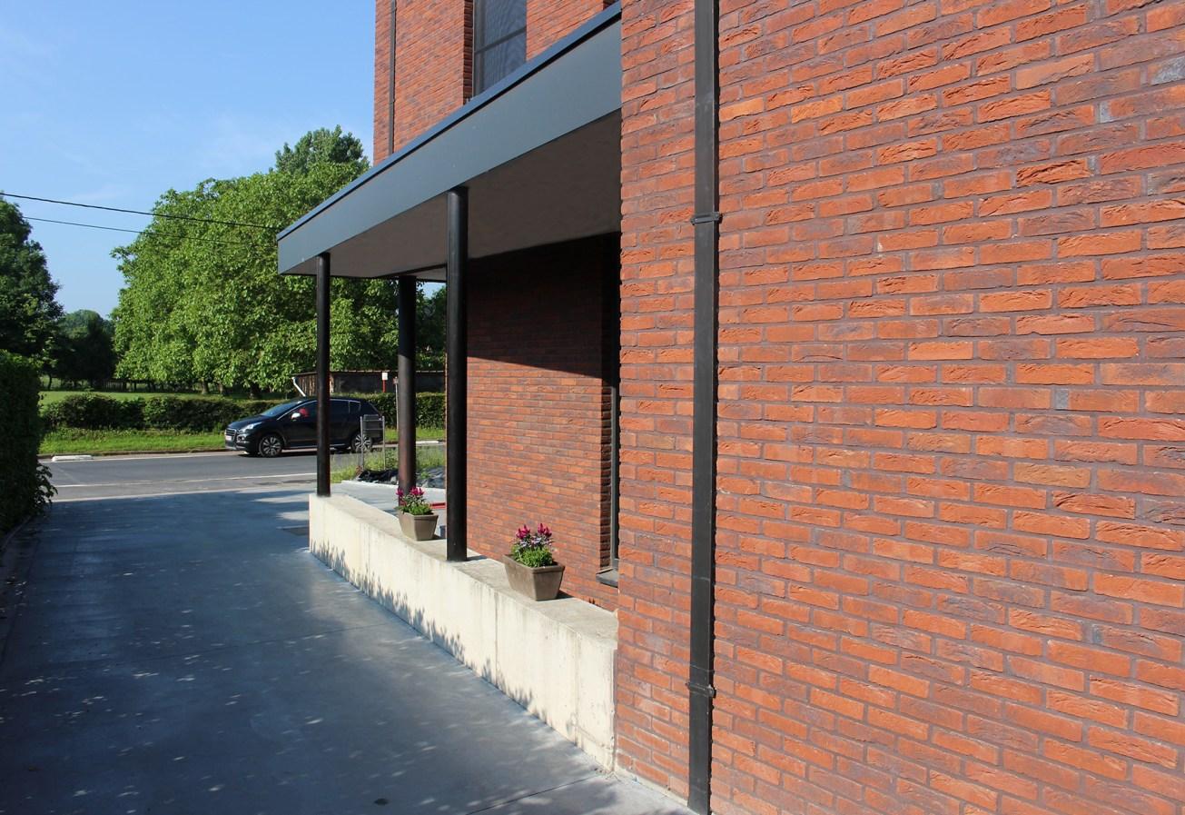 nieuwbouw halfopen bebouwing Kattenstraat Kruibeke