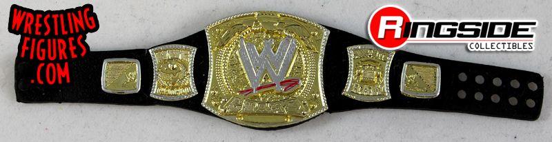 Loose Accessory WWE Championship Spinner Belt Ringside