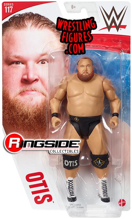Otis Wwe Series 117 Wwe Toy Wrestling Action Figures By Mattel