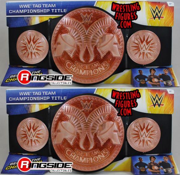 (2) WWE Tag Team Championship (2014) Mattel Championship ...