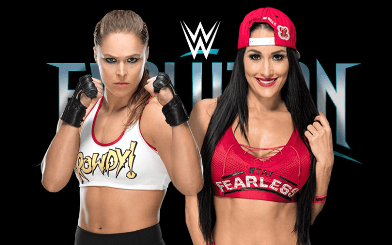 Image result for ronda rousey and nikki bella