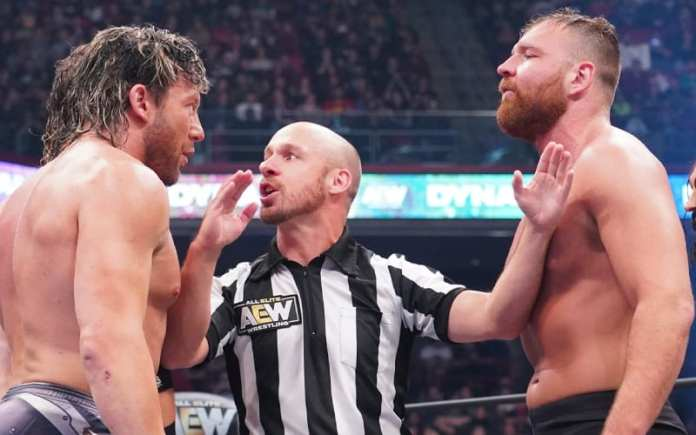Interesting Betting Odds For Jon Moxley vs Kenny Omega At AEW Winter Is  Coming