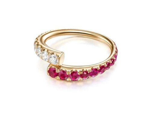 Lola ruby кольцо с рубином