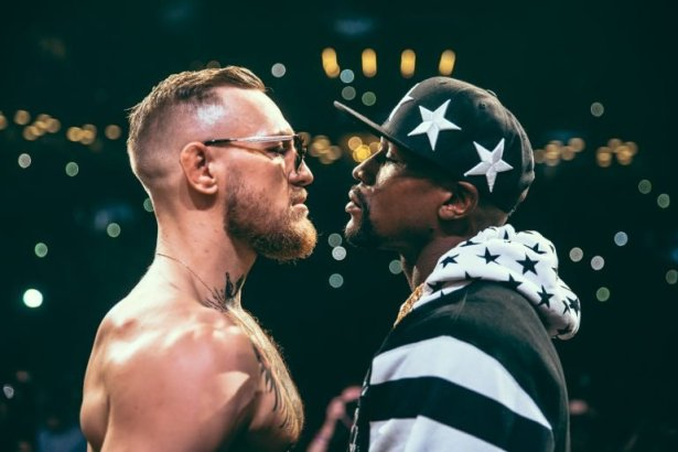 Image result for Floyd Mayweather Jr. vs. Conor McGregor