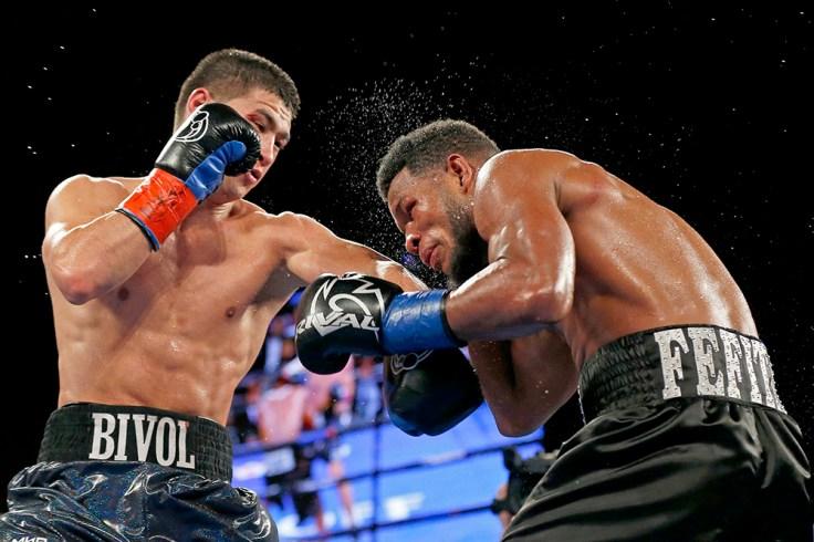 WBA light heavyweight titlist Dmitry Bivol (left) vs. Sulllivan Barrera
