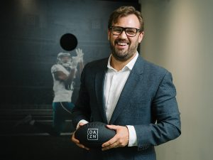 James Rushton, CEO of sports streaming service DAZN. Photo credit: Galit Rodan/National Post