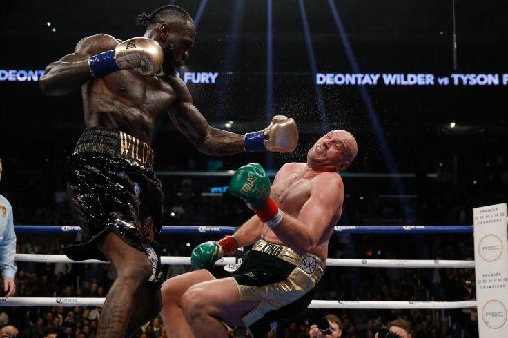 WBC heavyweight titlist Deontay Wilder (left) vs. lineal heavyweight champion Tyson Fury. Esther Lin/Showtime