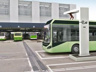 ABB, nuovi sistemi di ricarica veloce automatica per autobus elettrici