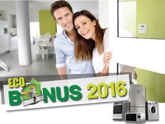 Ecobonus e grandi elettrodomestici, risparmi sino a 5.000 Euro