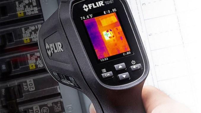 FLIR TG167, la termocamera a spot a campo visivo ristretto