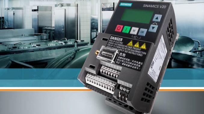 Sinamics V20 il più piccolo convertitore di frequenza di Siemens