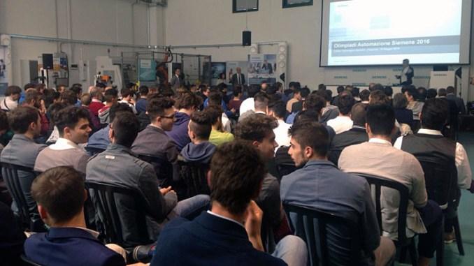 Siemens SCE premia gli studenti alle Olimpiadi dell'Automazione