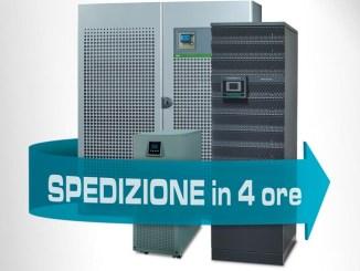 Socomec attiva il servizio di noleggio UPS in meno di 4 ore